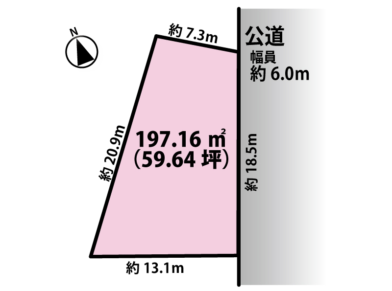 売地【春日井市八田町三丁目】