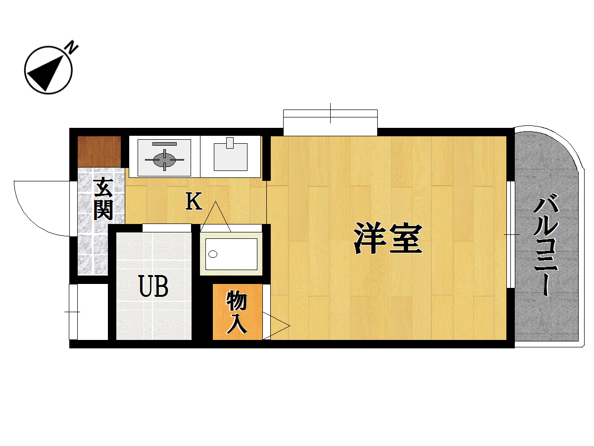 メゾン・ド・アミー <401号室>