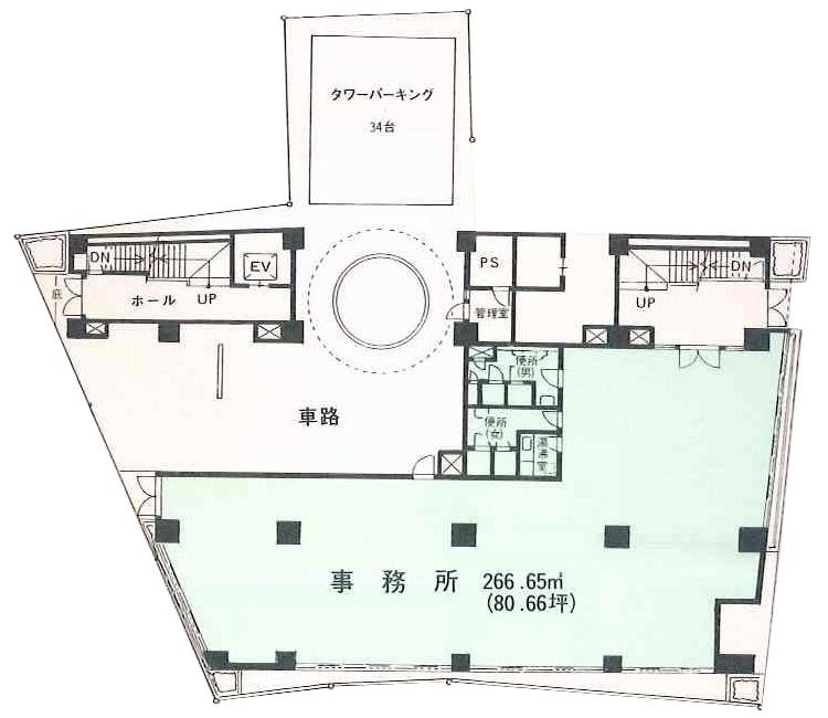 橘AKビル<1階>