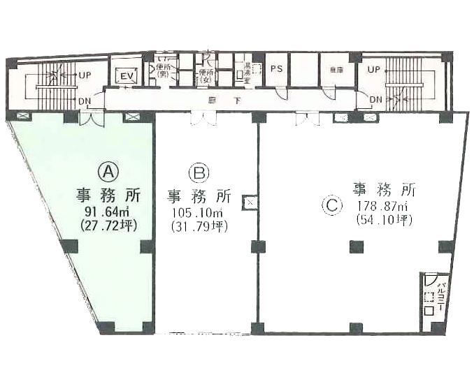 橘AKビル<4階A>